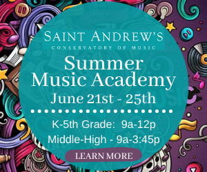 Saint Andrews Conservatory of Music Summer Camp
