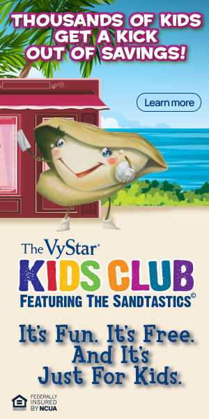 Vystar Credit Union Kids Club - Pearl
