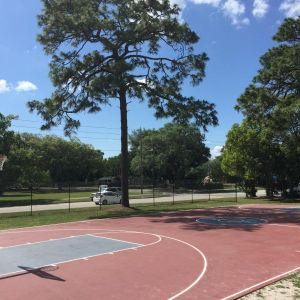Country Club Basketball court