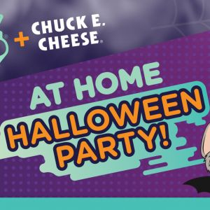 KIDZ BOP + Chuck E. Cheese At Home Halloween Party